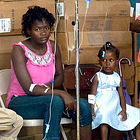 Cholera treatment in Haiti